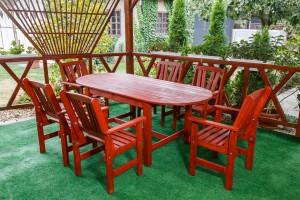 6 Személyes Kerek Asztal